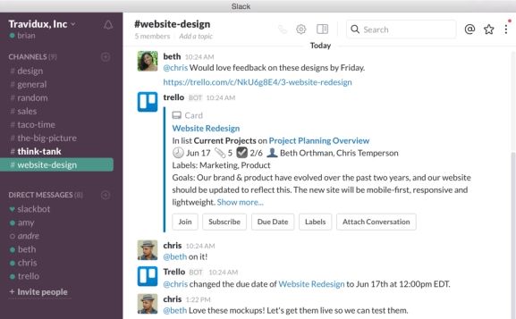 Technology: Apps for Group Work Collaboration (GroupMe, Slack